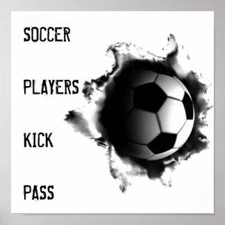 affiches du football