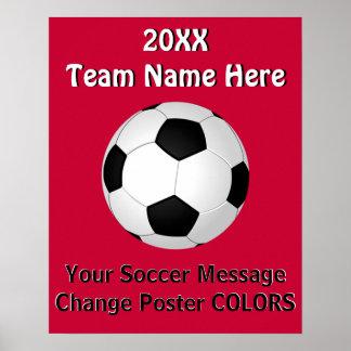 Affiches du votre football des TEXTES et de