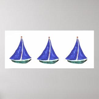 Affiches et copies de voiliers