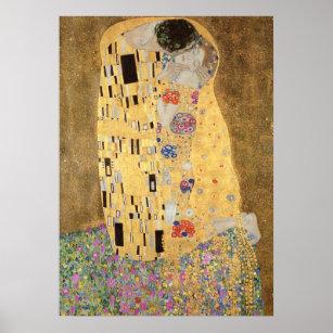 Affiches Le baiser, 1907-08