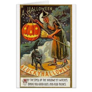 Affiches vintages de classique de cartes de voeux