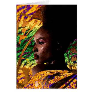 Africain Carte De Vœux