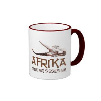 Afrika est des poules mouillées de pays récemment mug ringer