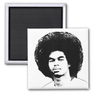 """Afro 2"""" d'Iyayi aimant carré"""