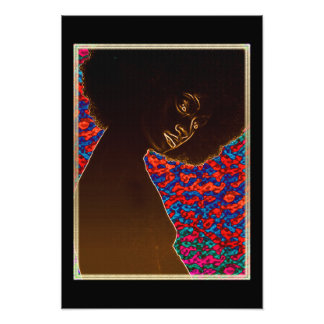 Afro Soul Sister Art Photo