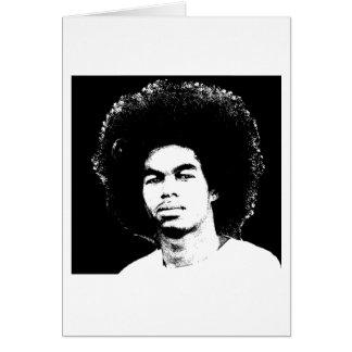 "Afro Stamdard 5"" d'Iyayi x 7"" carte vierge"