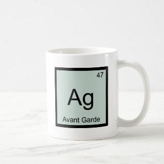 AG - T-shirt de symbole d'élément de chimie d'avan Tasse À Café