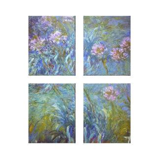 Agapanthus de Claude Monet Toiles