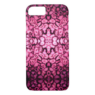 Agate rose coque iPhone 7