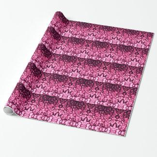Agate rose papiers cadeaux noël