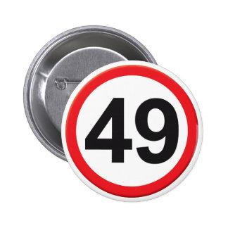 Âge 49 pin's