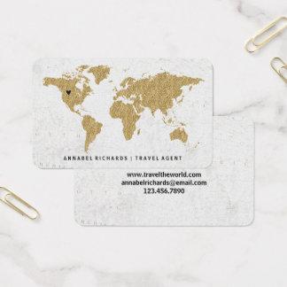 Agence de voyages chic ou Blogger de carte du