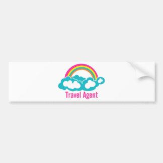 Agent de voyage de nuage d'arc-en-ciel adhésif pour voiture