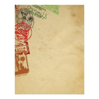 Agent de voyage/insecte d'agence de voyages prospectus 21,6 cm x 24,94 cm