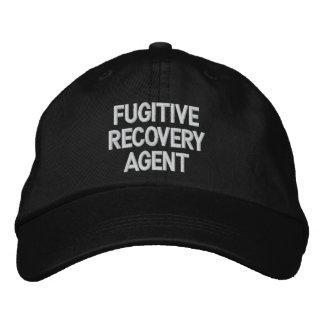 Agent fugitif de récupération chapeau brodé