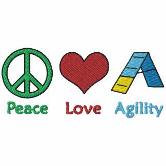 Agilité d'amour de paix