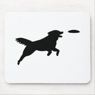 Agilité de chien tapis de souris