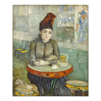 Agostina Segatori en Cafe du Tambourin par Van Gog Photographie D'art