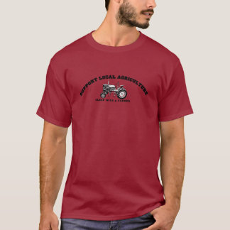 Agriculture de gens du pays de soutien t-shirt