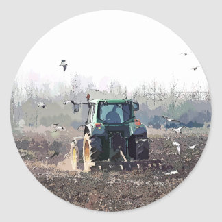 AGRICULTURE STICKER ROND