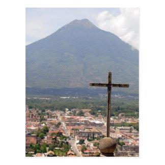 Agua de Volcan, Guatemala, carte postale