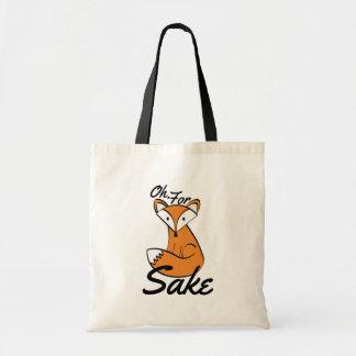 Ah, pour le sac fourre-tout à saké de Fox