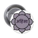 ahimsa (lotus) .jpg badge
