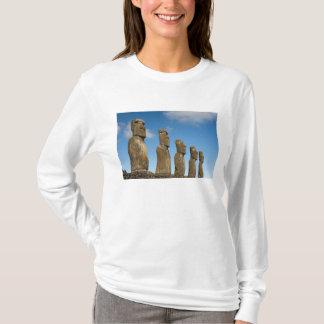 Ahu Akivi, Rapa Nui, île de Pâques, Chili 2 T-shirt