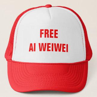 """""""AI libre Weiwei"""" couvre des casquettes"""