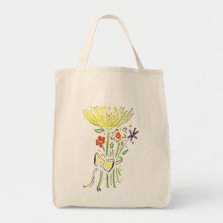 Aide de fleur sacs fourre-tout