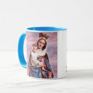 Aide de Mary de tasse de portrait de chrétiens