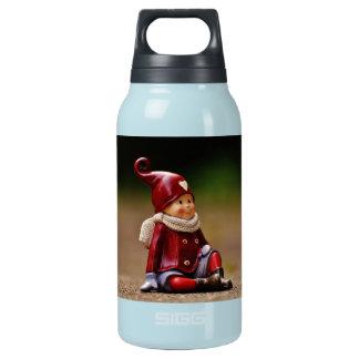 Aide de Père Noël - Noël heureux - gnome Bouteilles Isotherme