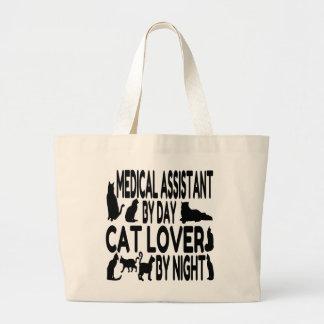 Aide médical d'amoureux des chats grand sac