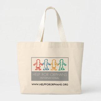 Aide pour le sac fourre-tout à orphelins