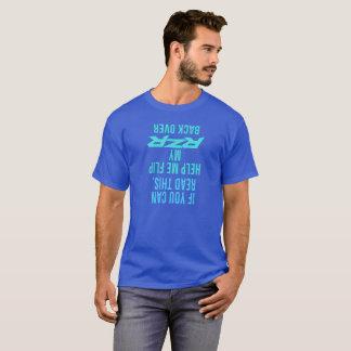 Aidez-moi à renverser mon RZR de retour plus de T-shirt