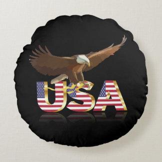 Aigle américain coussins ronds