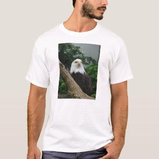 aigle chauve magestic se reposant dans l'arbre t-shirt