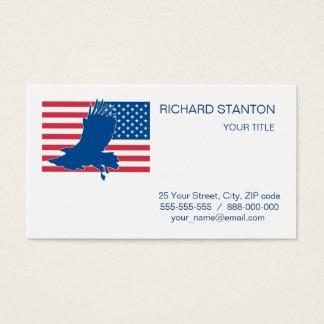 Aigle des Etats-Unis Cartes De Visite