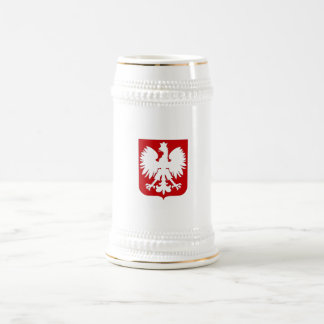 Aigle polonais simple Stein Chope À Bière