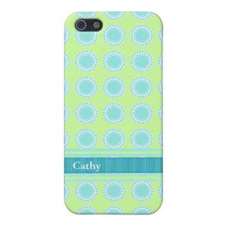 Aigue-marine colorée et caisse Chartreuse de l'iPh Coques iPhone 5