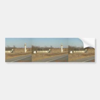Aiguille dans le Se le Kansas de meule de foin (si Autocollant Pour Voiture