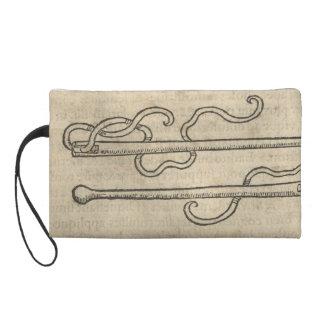 Aiguille et fil pochette avec dragonne