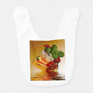 Ail de tomates de Basil de poivrons Bavoir