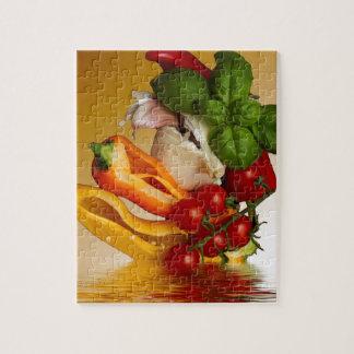 Ail de tomates de Basil de poivrons Puzzle