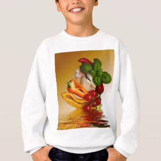 Ail de tomates de Basil de poivrons Sweatshirt