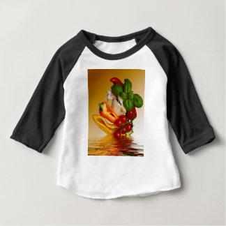 Ail de tomates de Basil de poivrons T-shirt Pour Bébé