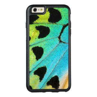 aile bleue et verte de papillon coque OtterBox iPhone 6 et 6s plus