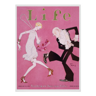 Aileron 1926 de couverture de magazine de la vie affiches