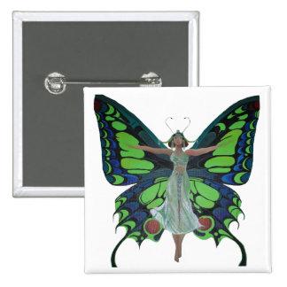 Aileron vintage avec des ailes de papillon badges