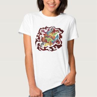 Ailes au vol t-shirts